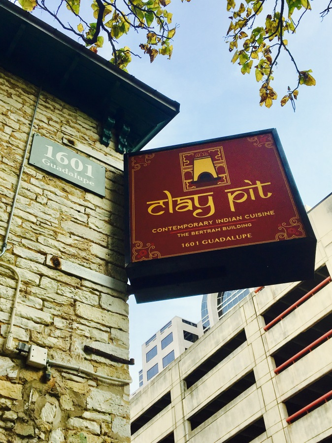 The Clay Pit is an authentic Indian restaurant with a past… Downtown Austin TX