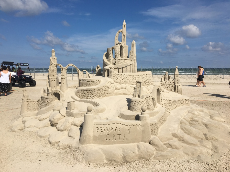 Port Aransas is back in business!!!  Sandfest 2018, Beautiful Beach Days and One by One Restaurants and Shops are Opening their Doors post Hurricane Harvey…